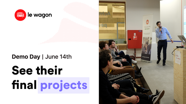 Le Wagon Brussels Demo Day - Batch 255 | Meetup