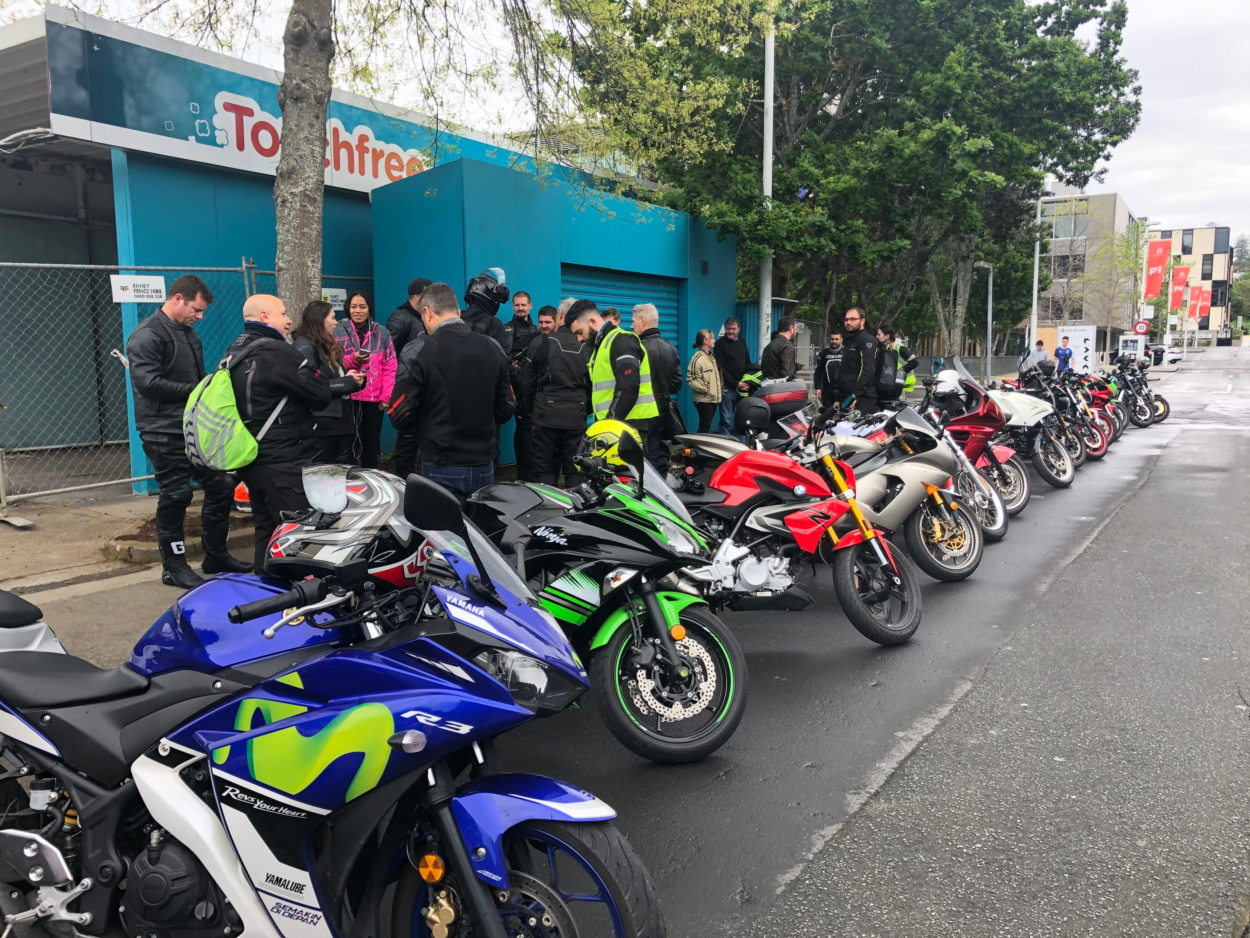 Auckland Motorcycle Rides SUB190