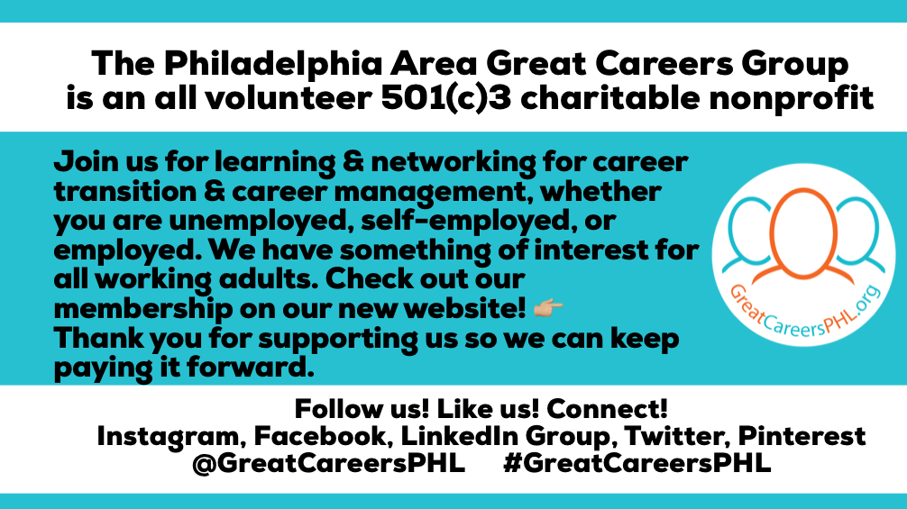Philadelphia Area Great Careers Group