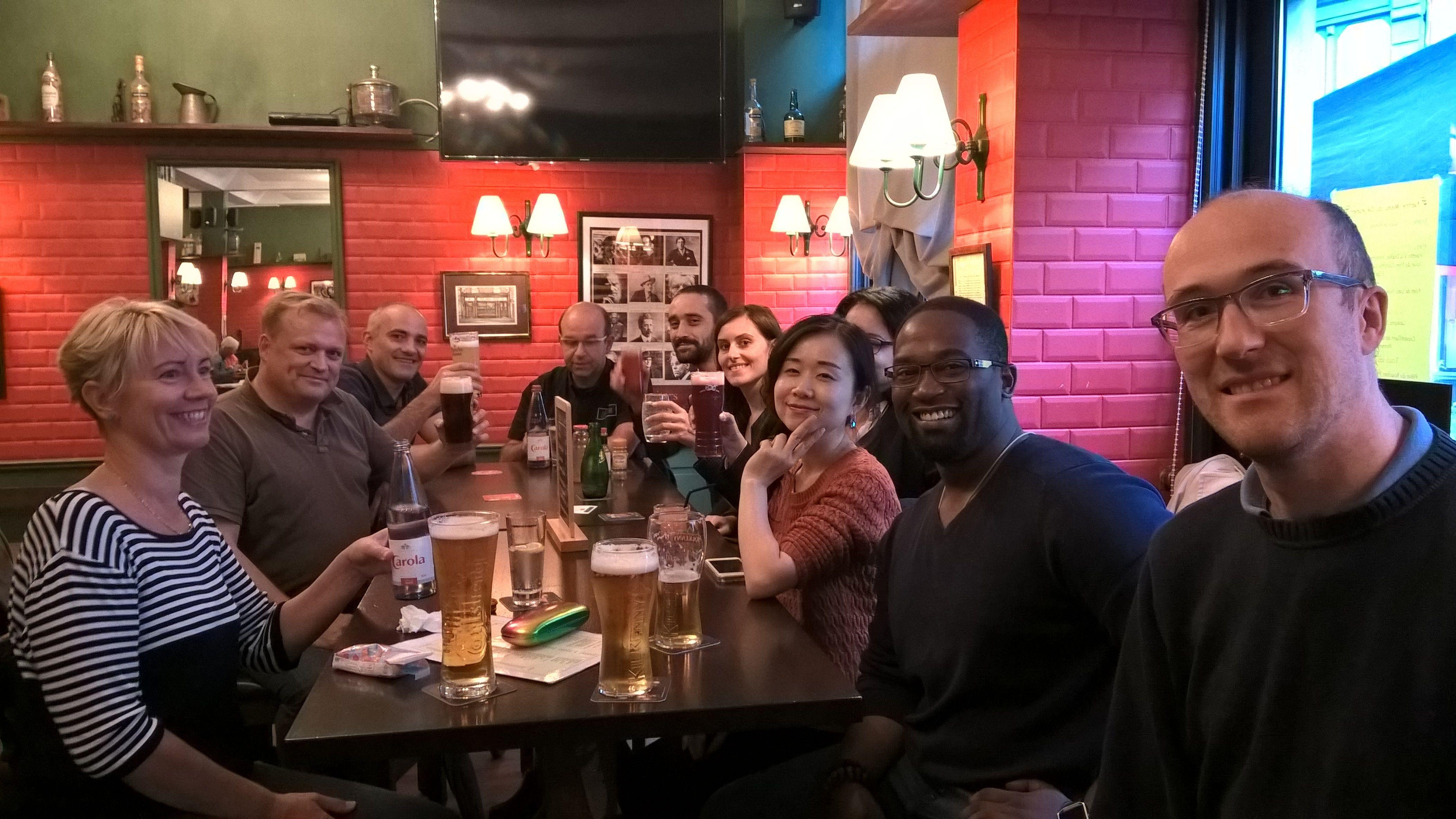 The Strasbourg English Meetup