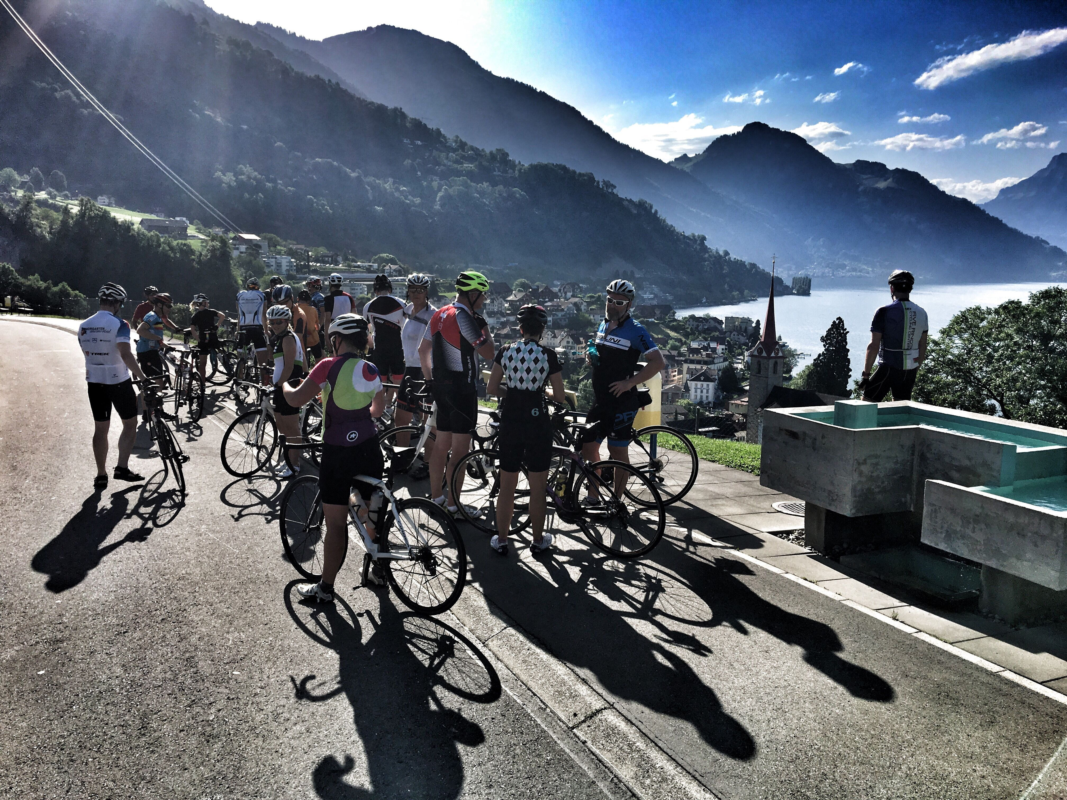 Zug Zurich Peloton Group Ride