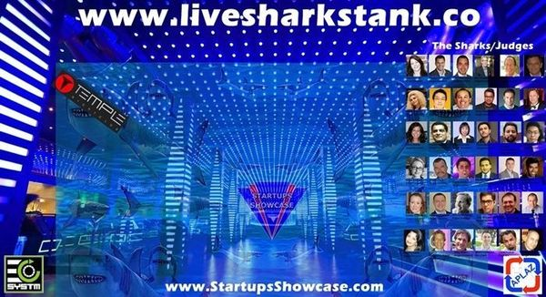 Live Sharks Tank® episode 50 with $50k in prizes, startup expo & VIP party