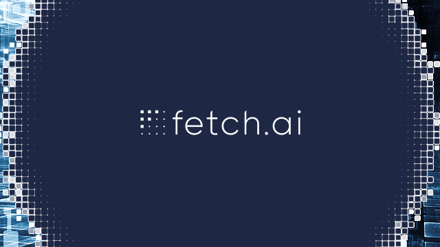 Fetch.ai Meetup