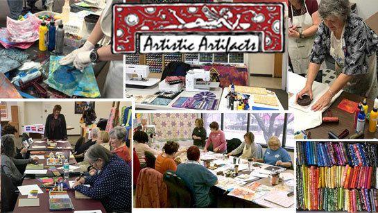 Artistic Artifacts Alexandria Artists Meetup