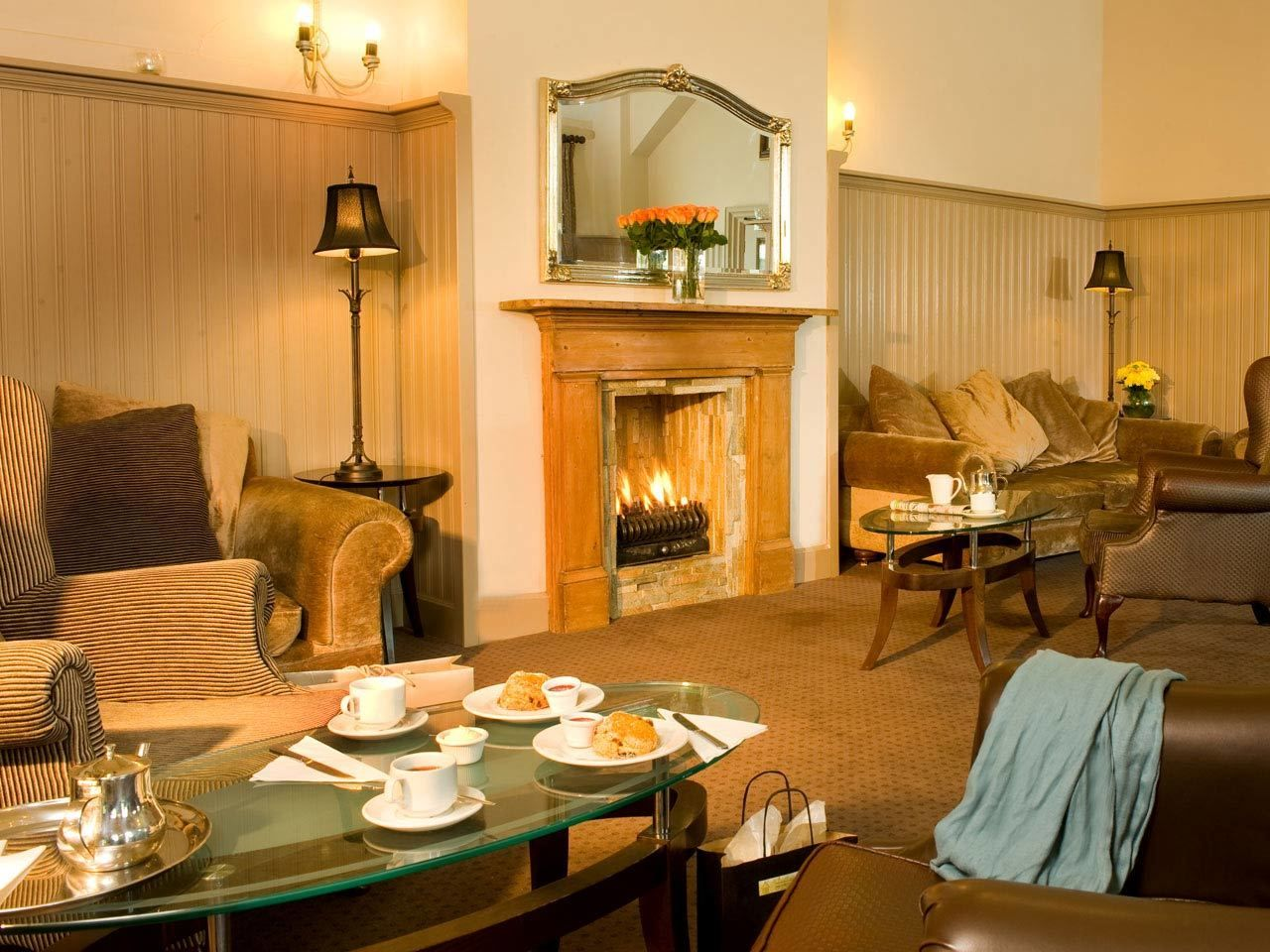 Chat + Relax in the Abbeyleix Manor Hotel