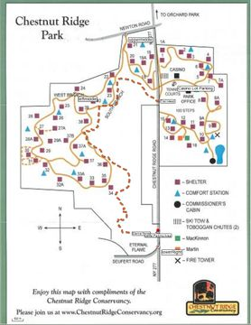Chestnut Ridge Park Map Chestnut Ridge Park Map | compressportnederland Chestnut Ridge Park Map
