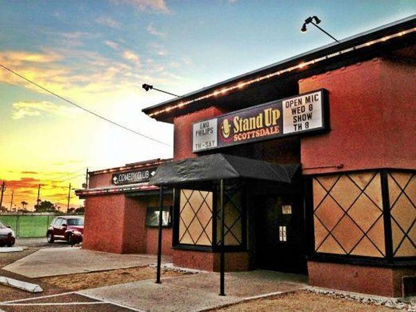 Phoenix adult entertainment comedy dance club protest
