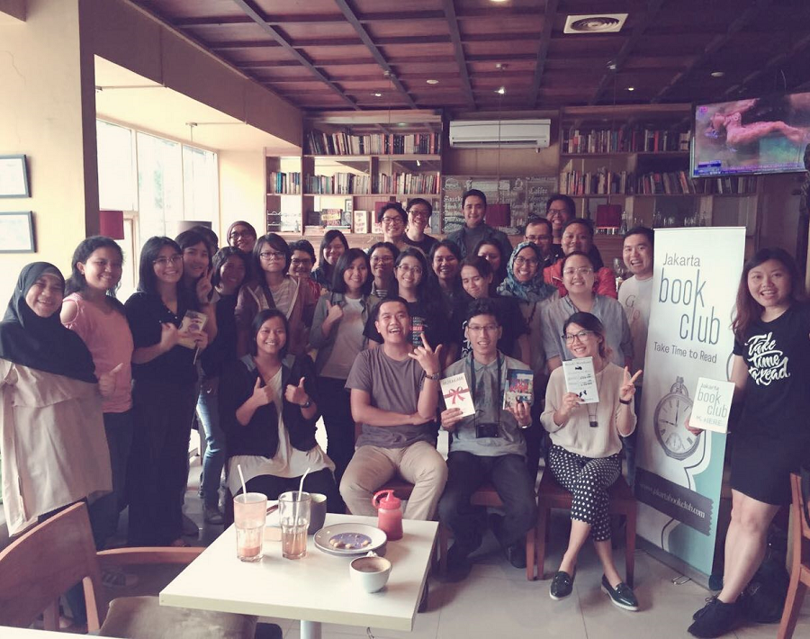 Hang out with Jakarta Book Club