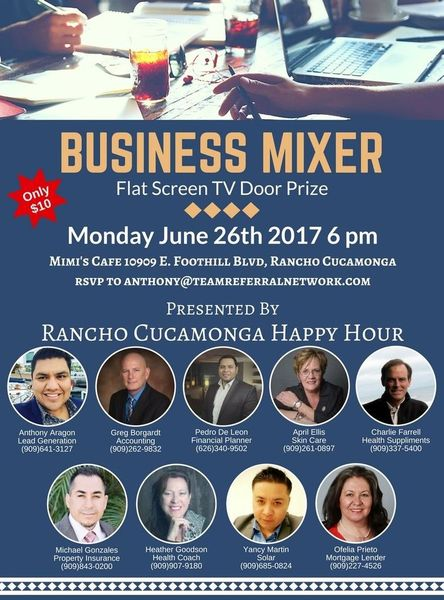 Youth Business Mixer ~ Summer kick off business networking mixer mimi s cafe