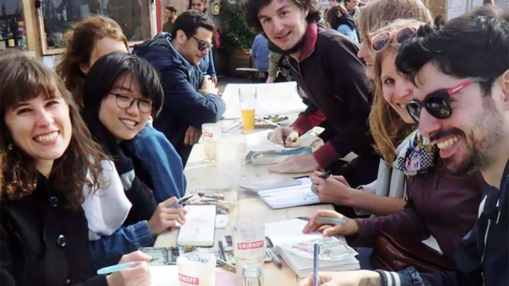 Berlin Sketch Together