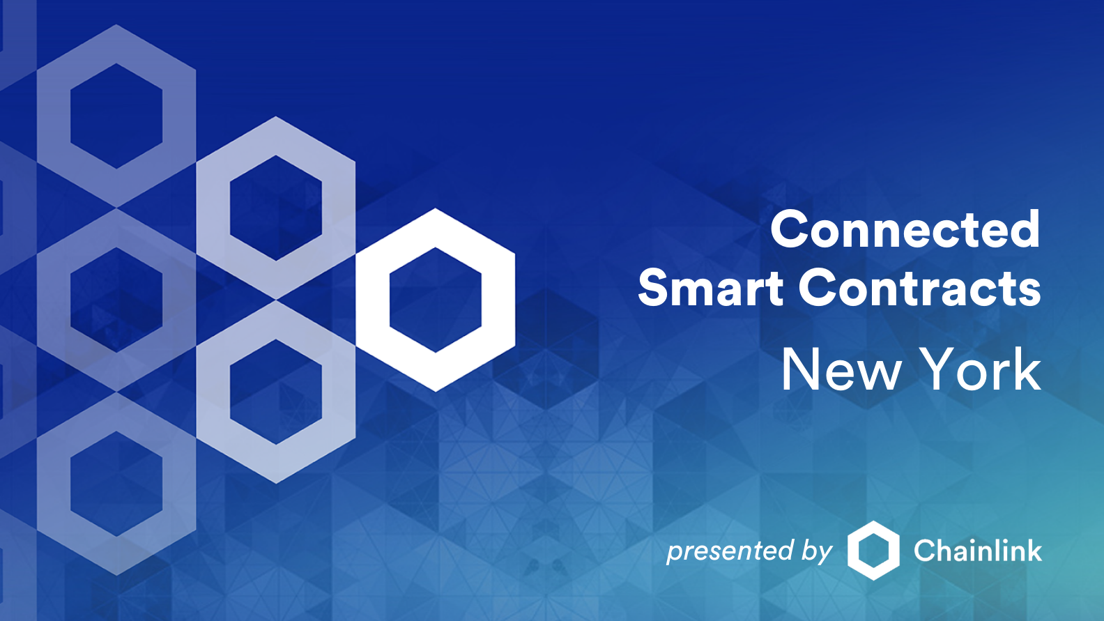 Chainlink New York: Connected Smart Contracts