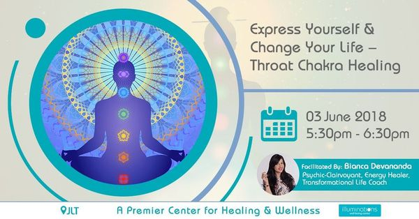 Express Yourself & Change Your Life – Throat Chakra Healing