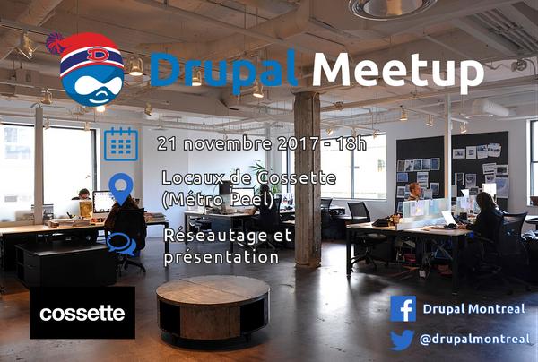 Info drupal meetup 2017