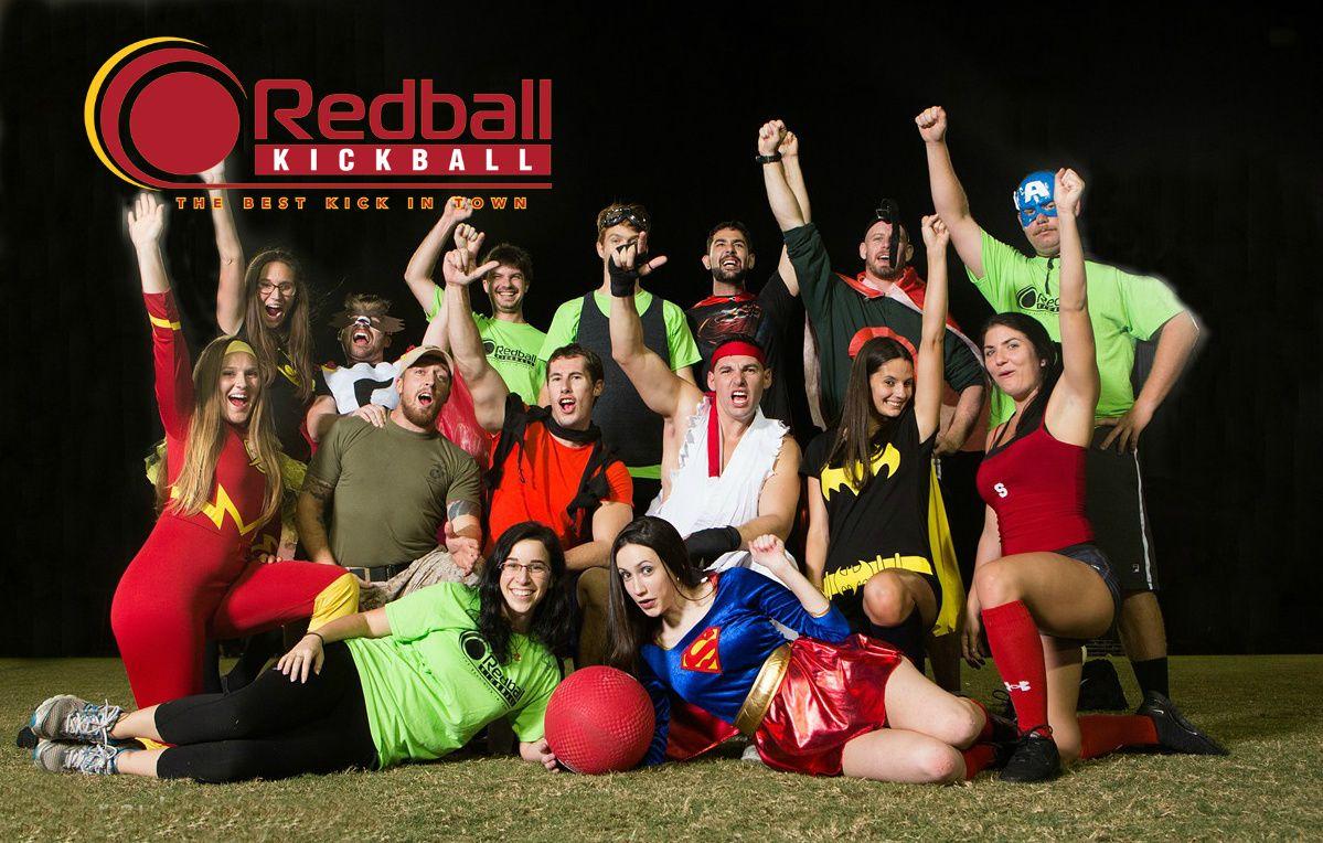 RedBall Social & Adult KickBall, South Florida