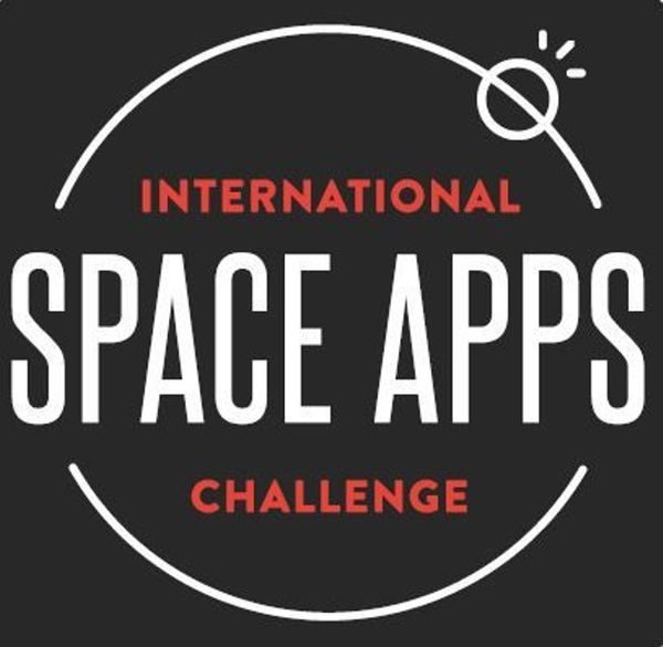 meetup logo for Space Apps Central Florida
