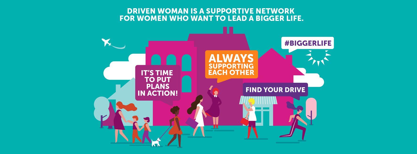 Driven Woman- A Woman's LifeWorking Group