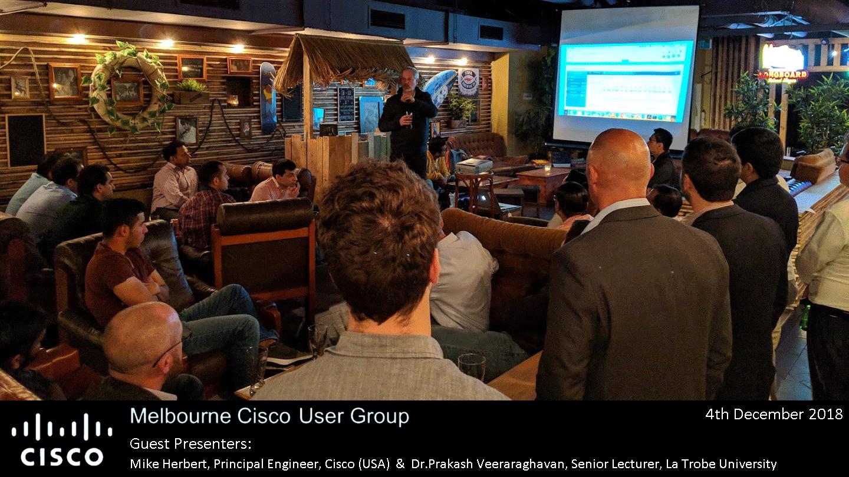 Melbourne Cisco User Group Meetup