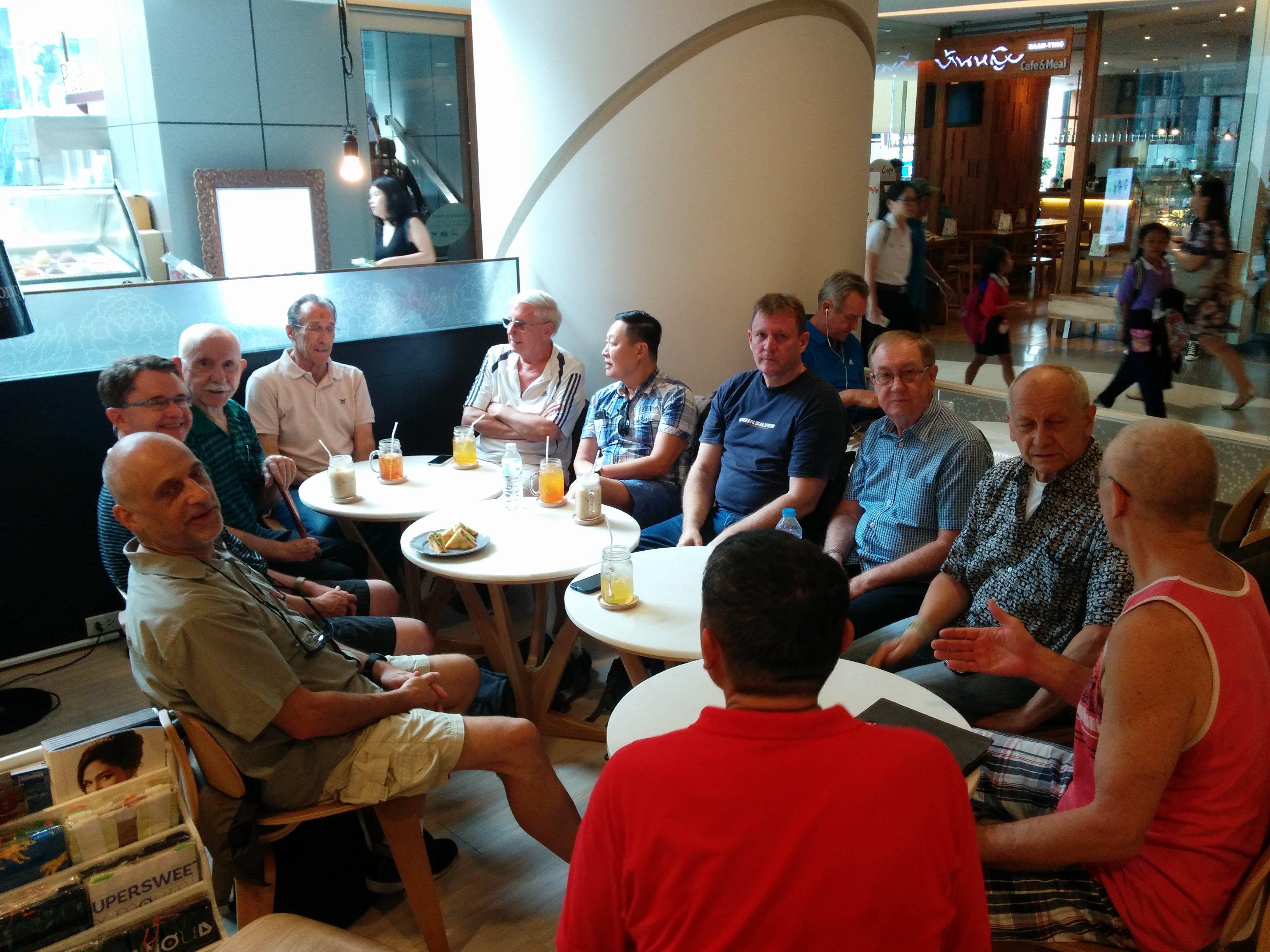 Bangkok Gay Teatime