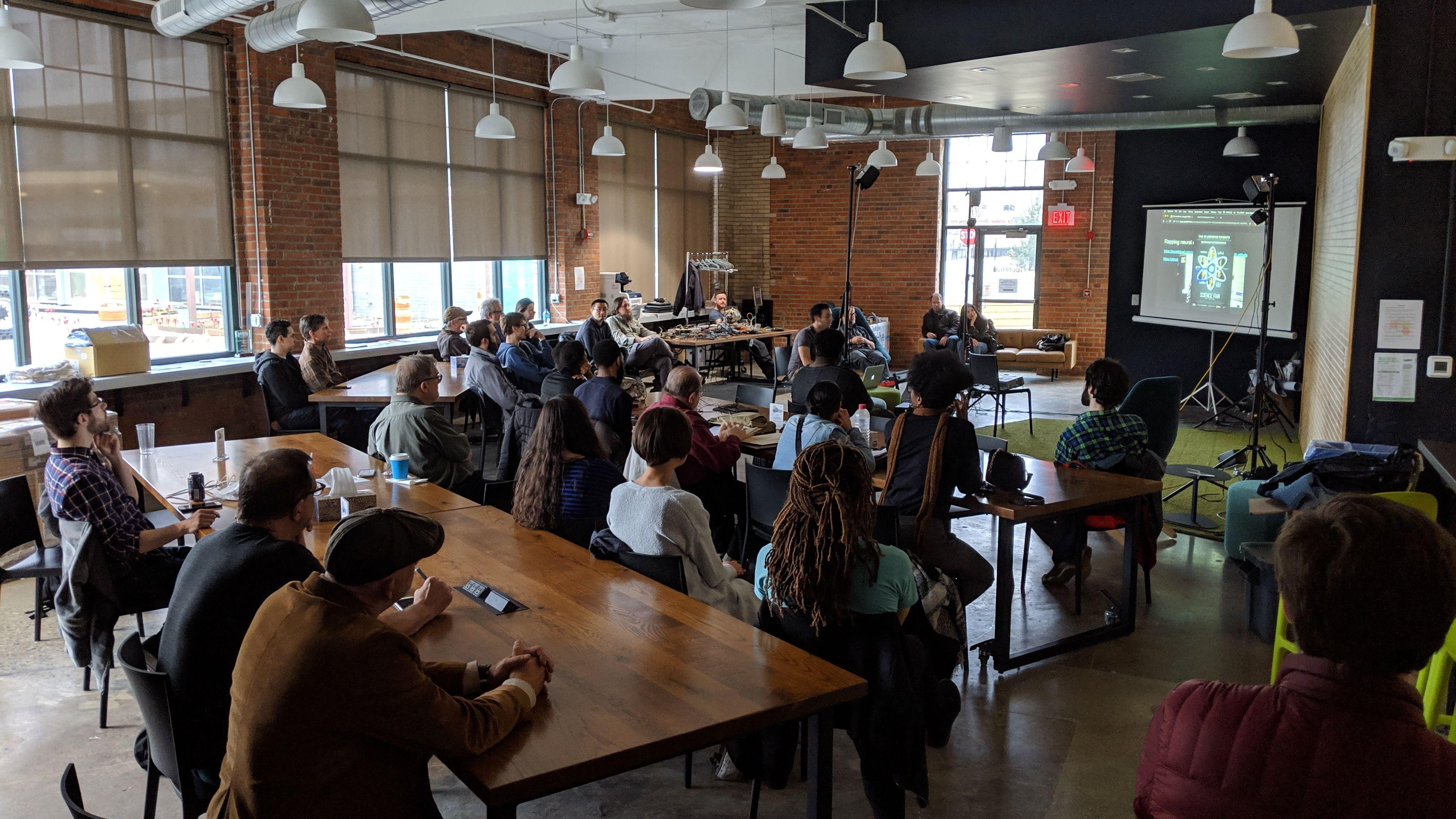Cleveland Art, Music + Technology Meetup