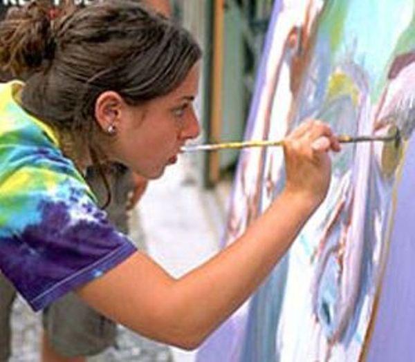 Teen art classes park shall simply