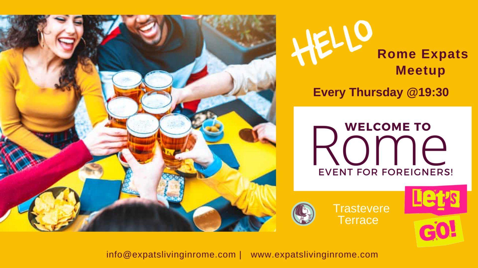 Thursdays Meet & Greet for Newcomers | Trastevere