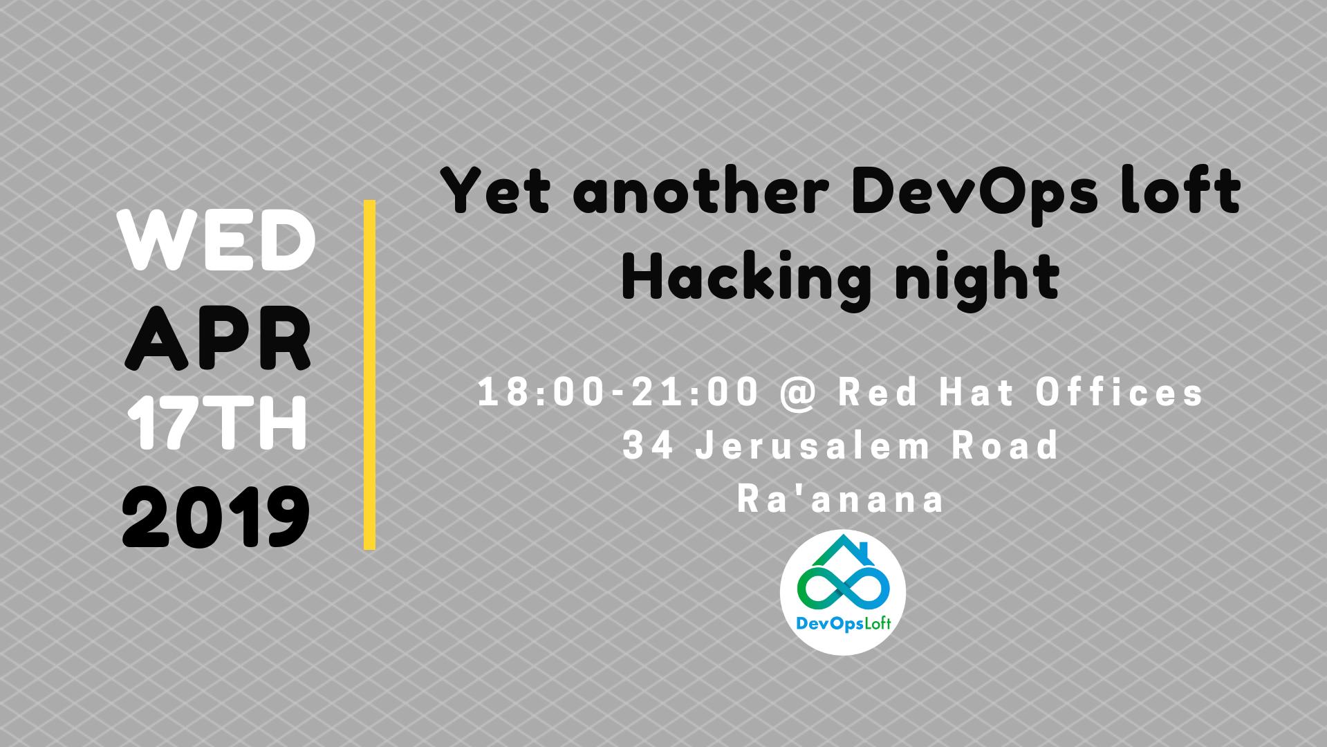 Yet another DevOps Loft hacking night