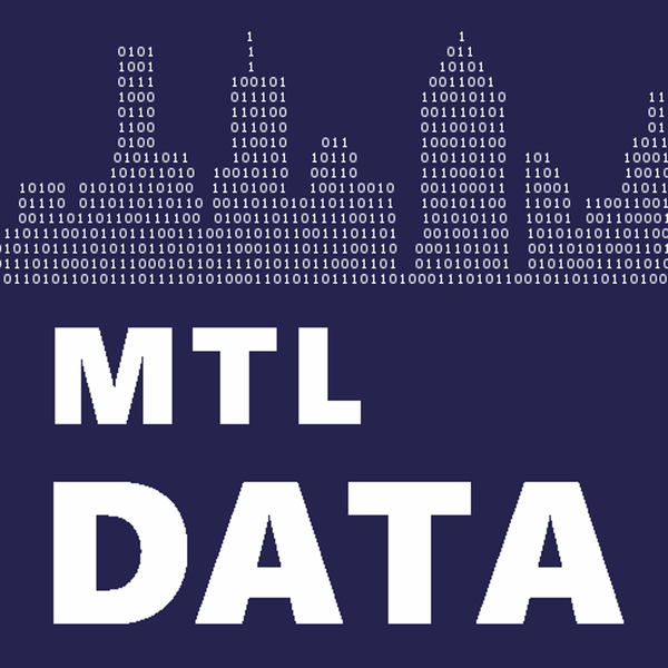 Past Events   MTLDATA (Montréal, QC)   Meetup