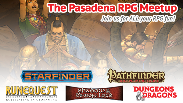 The Pasadena RPG Meetup