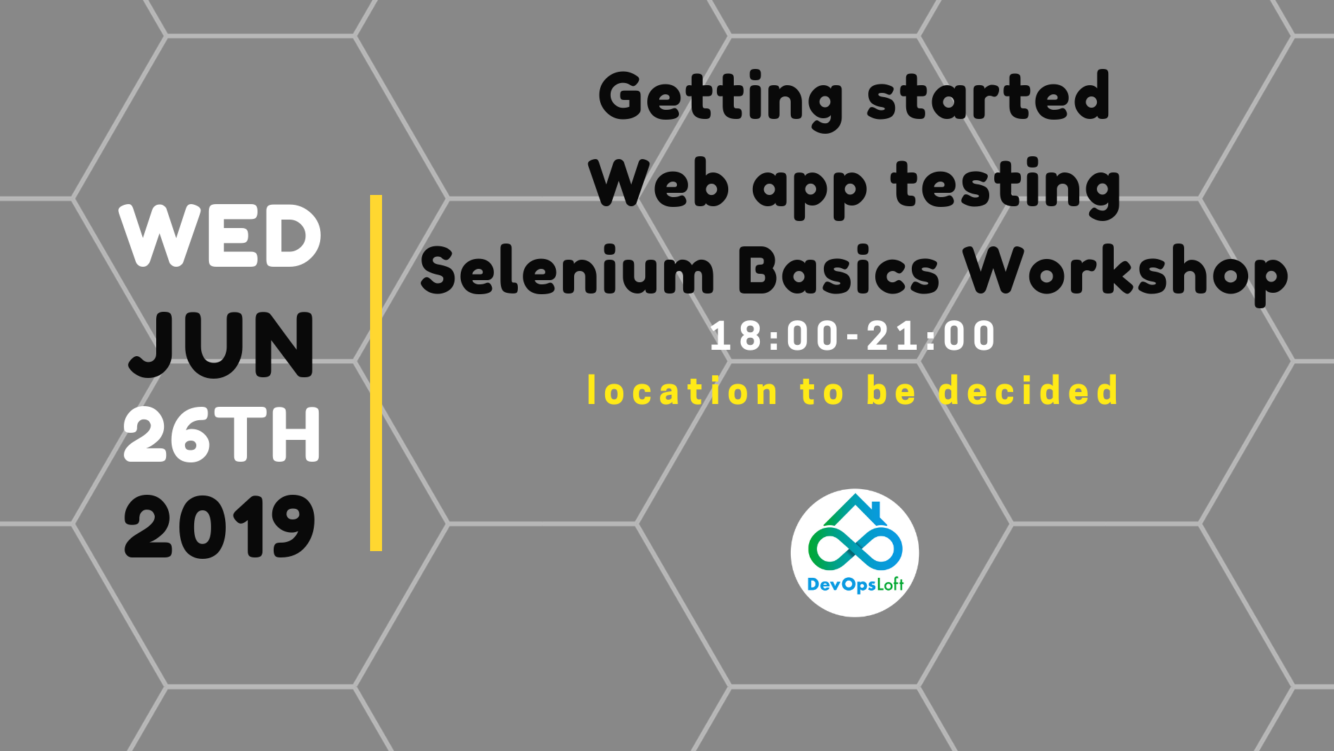 Getting started Web app testing - Selenium Basics Workshop
