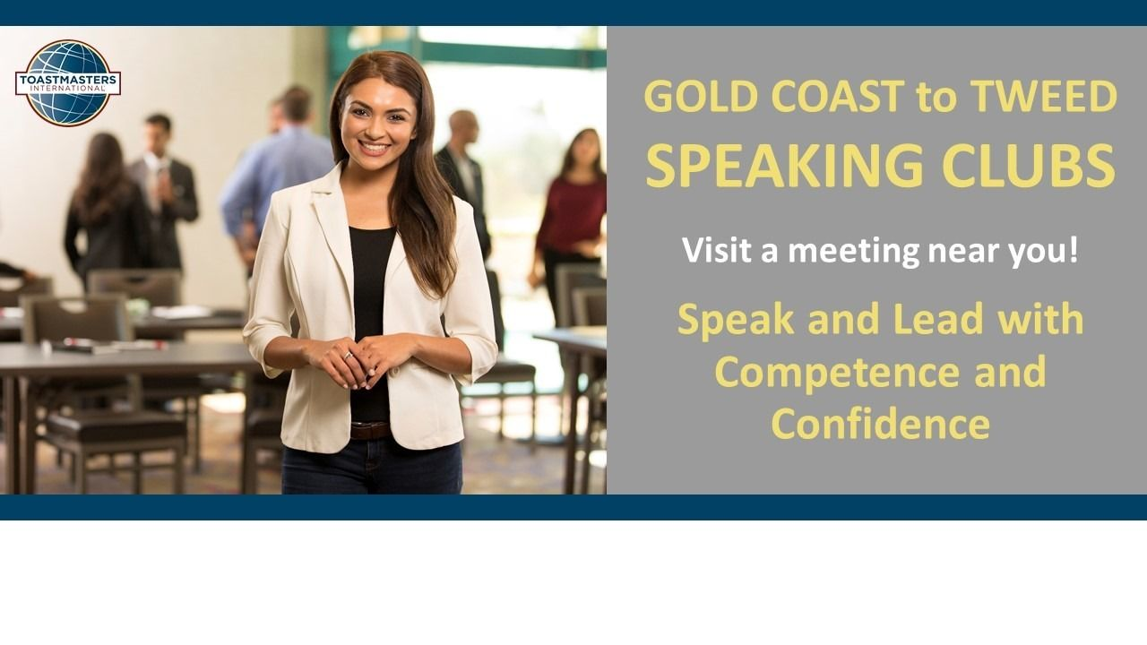 Gold Coast to Tweed Speakers & Leaders - Improve Your Impact