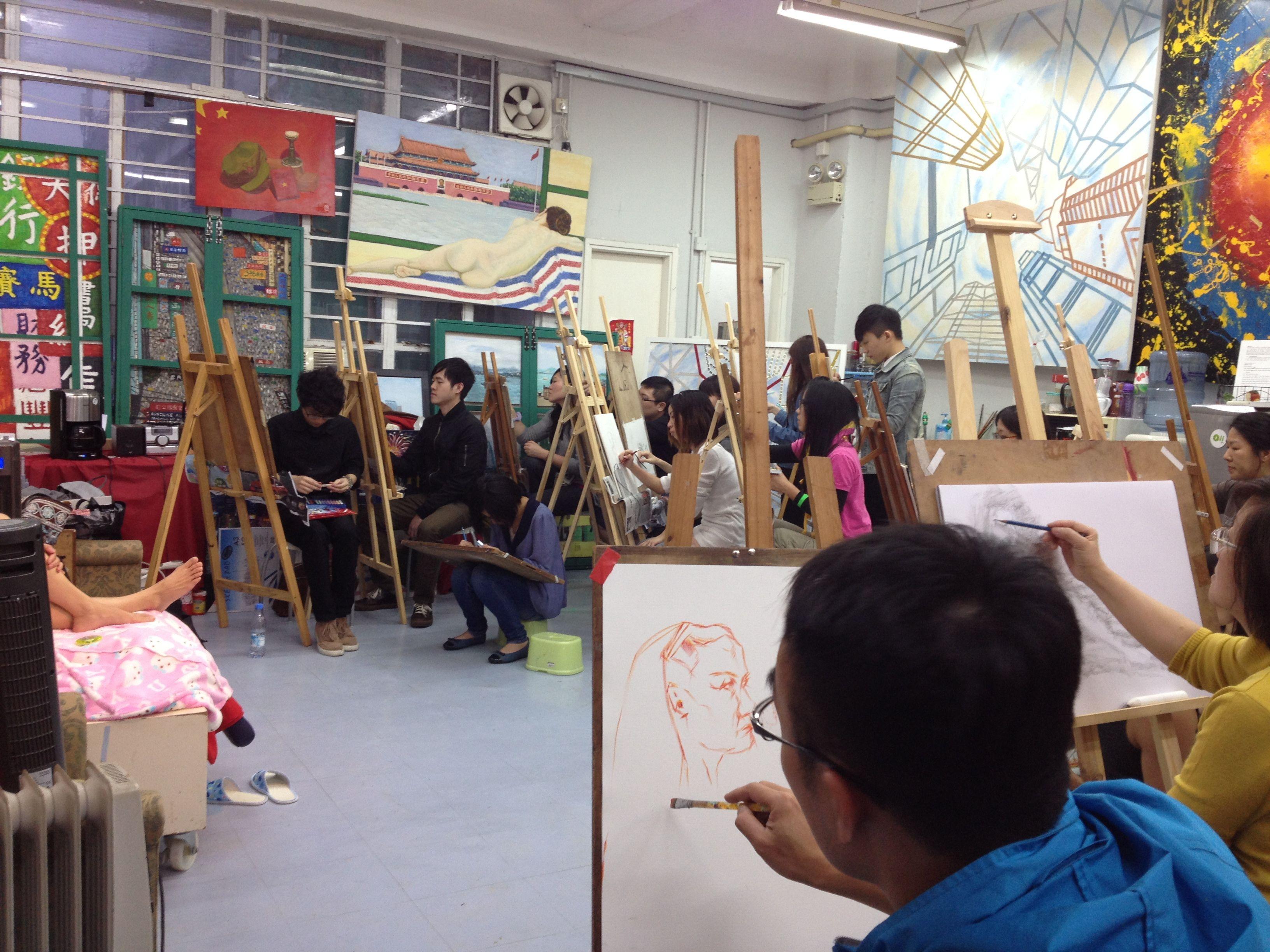 Art Calendar Hong Kong : Photos hong kong art meetup for painting life drawing