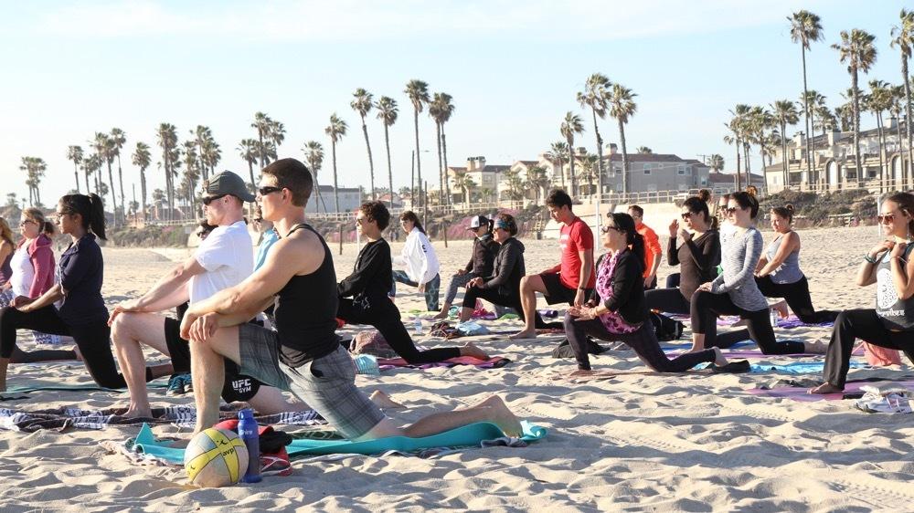 Yoga on the Beach-Huntington Beach