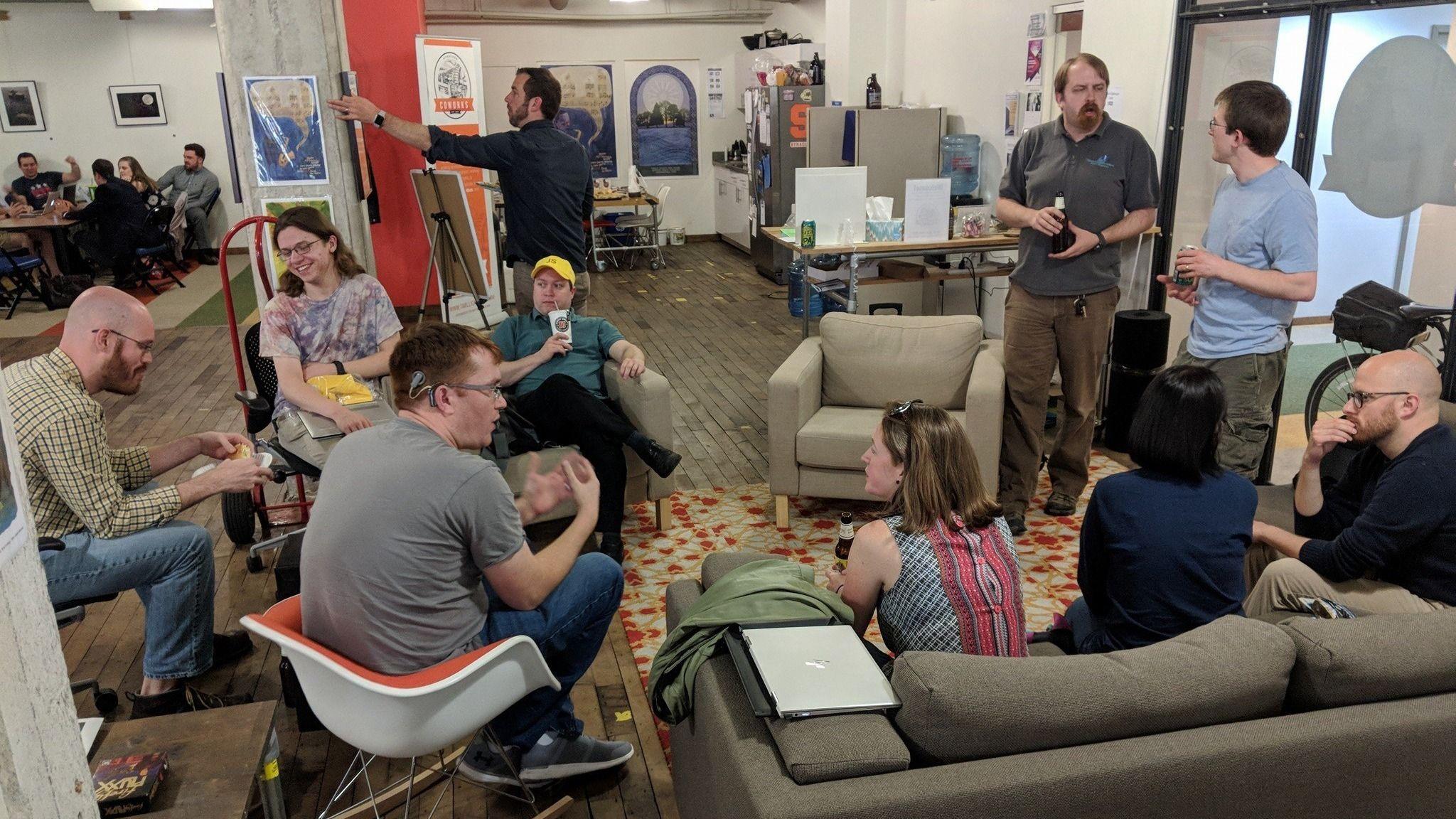 Meetups @ Syracuse CoWorks