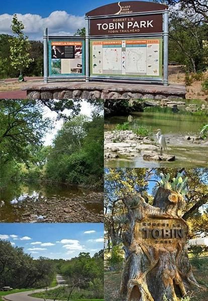 9:30am   Meet To Hike At Tobin Park Trailhead Parking Lot Off The NE I 410  Access Road 9:45am   Hike Begins 11am   Expect To Arrive At Lost Patios For  ...
