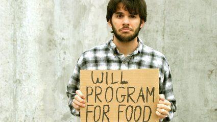 Программисты ищут работу.