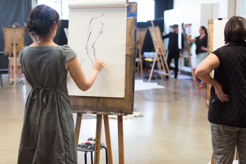 Life Drawing classes at The Art Room