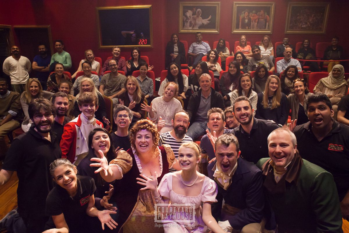 Courtyard Playhouse Community -  Comedy, Acting and Improv