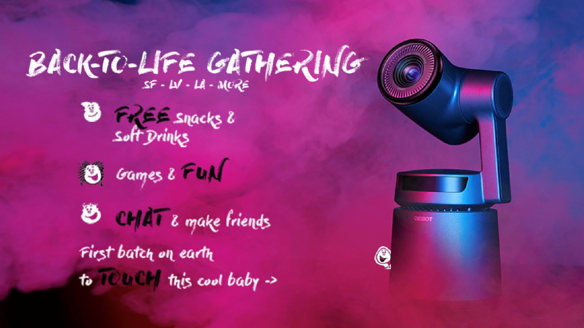 "OBSBOT ""BACK-TO-LIFE Gathering"" - AI Camera"