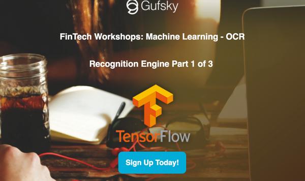 FinTech Workshops: Machine Learning - OCR Recognition Engine