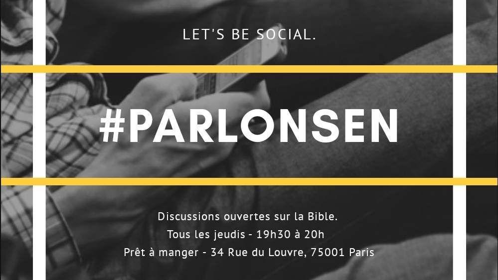 Parlons-en | Paris