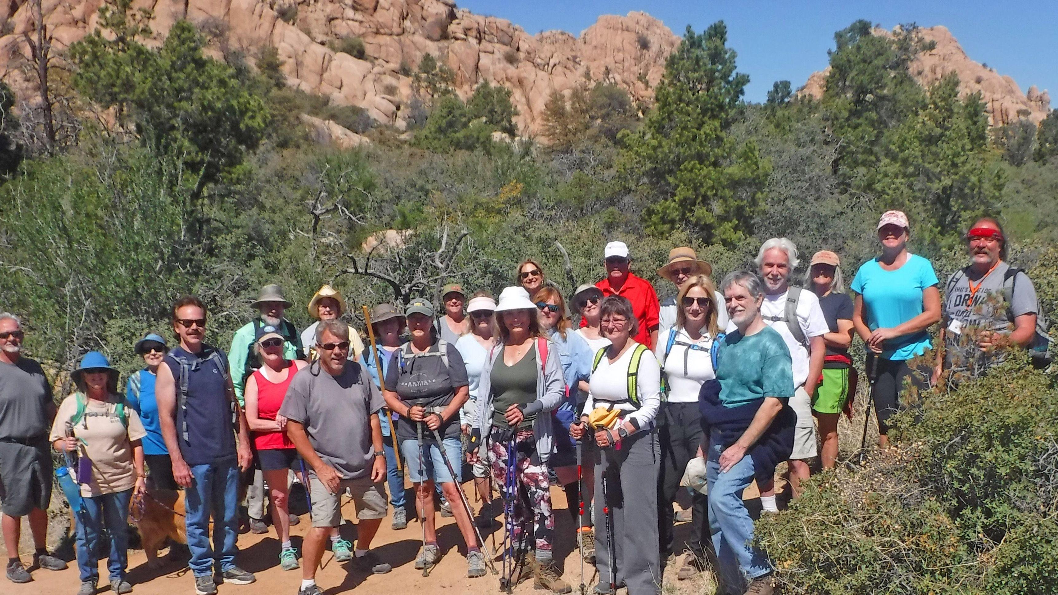 Prescott Nature Hikes and City Walks