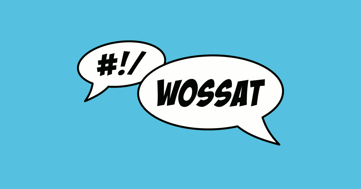 WOSSAT -Wellington Open Source Show And Tell