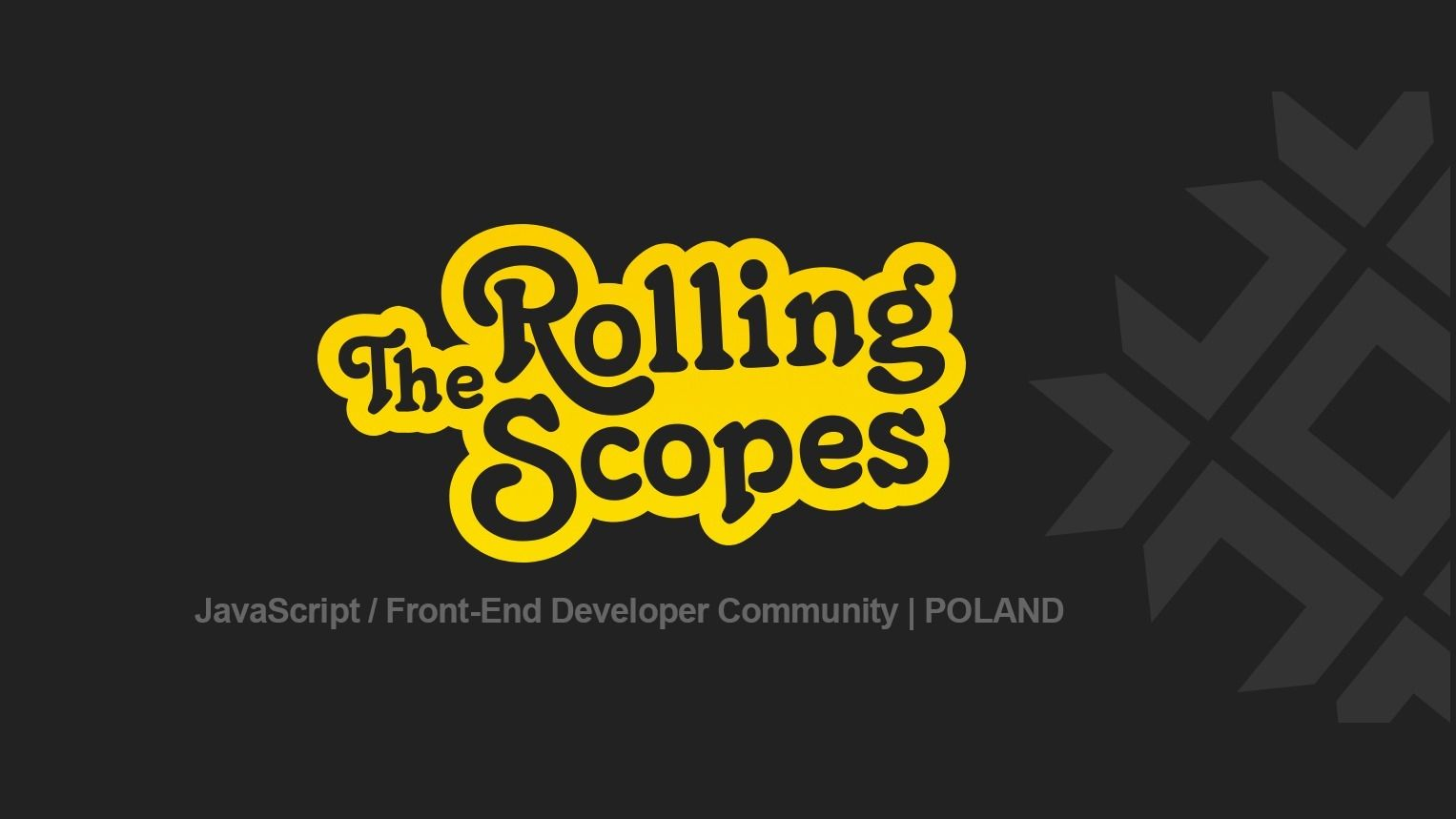The Rolling Scopes