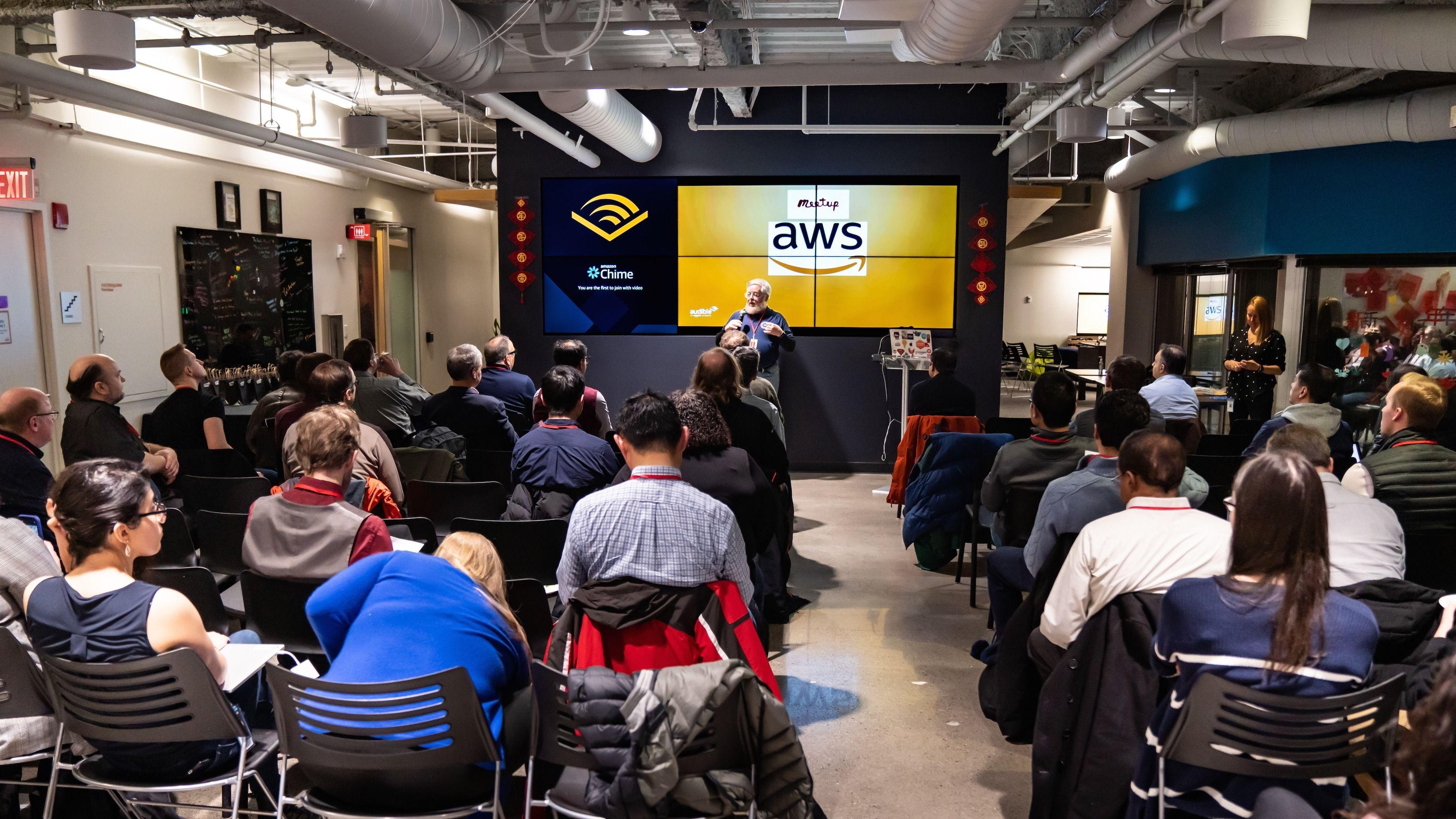 The Boston Amazon Web Services Meetup Group