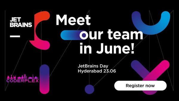JetBrains Day Hyderabad 2019 | Meetup