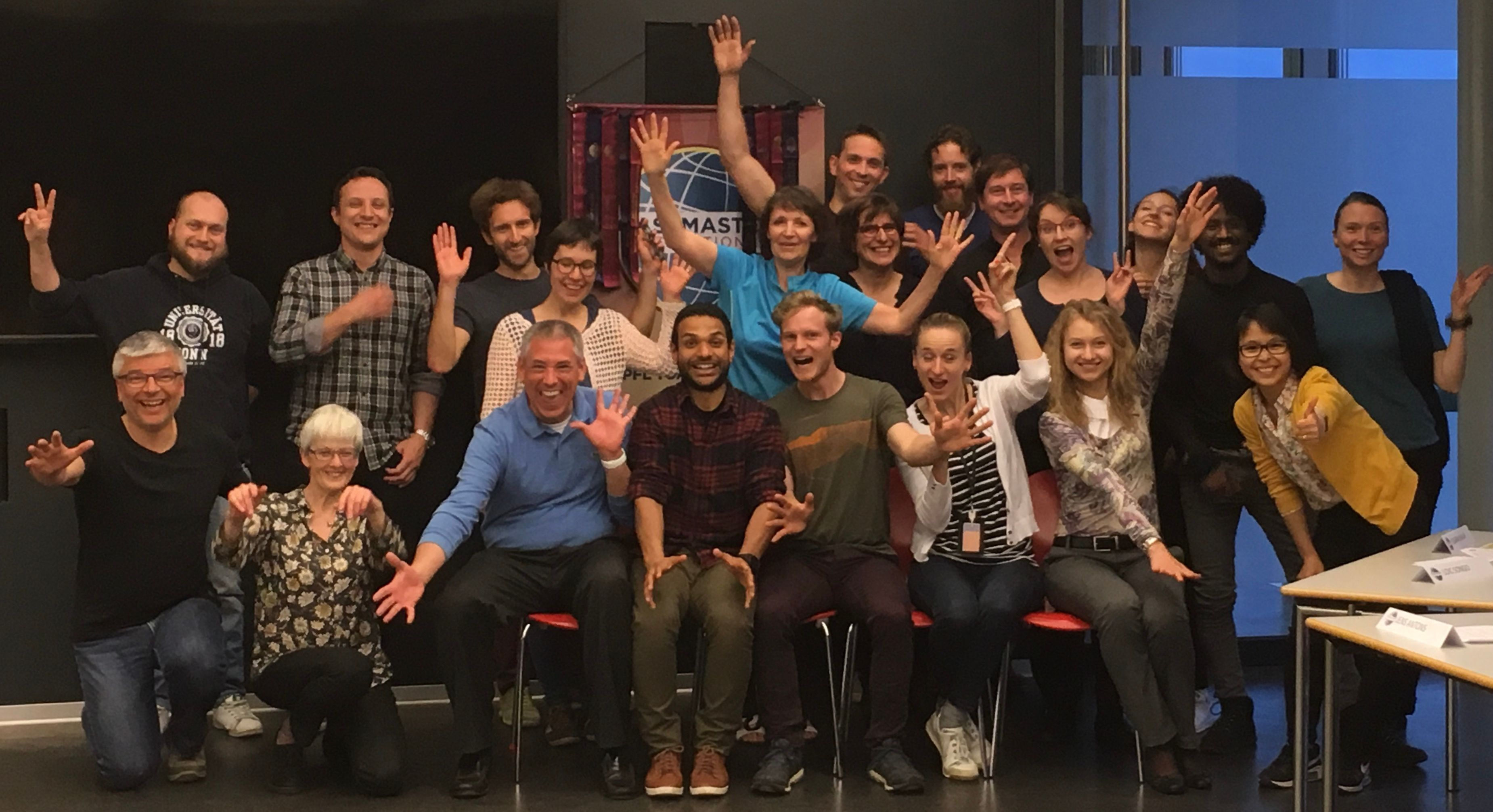 International Toastmasters Club at EPFL Lausanne