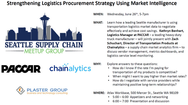 Seattle Supply Chain Meetup Group | Meetup