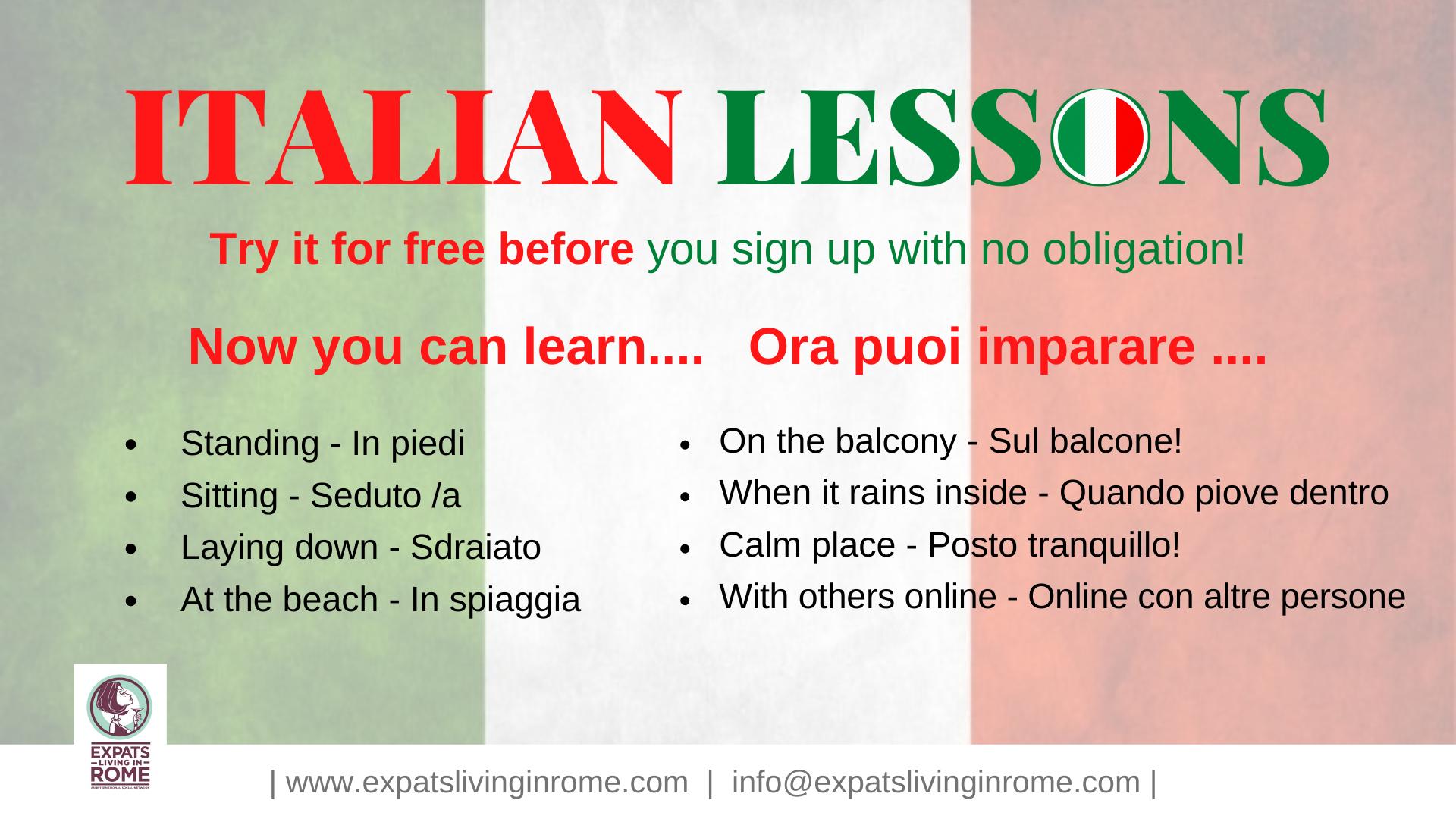 Italian Language & Culture Courses Online