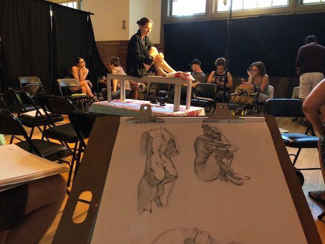 Figure Drawing at El Barrio's Artspace PS109