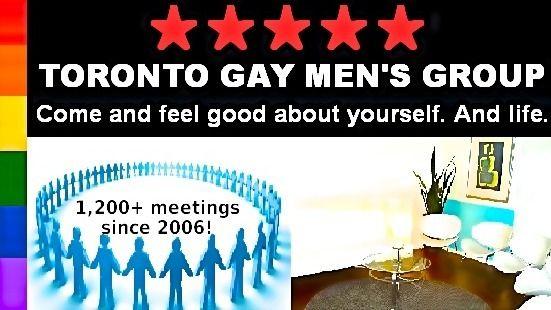 TORONTO GAY MEN'S GROUP ~>Total 150+members & 1,200+meetings